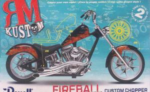 Custom Chopper FIREBALL