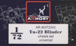 Tu-22 Blinder Wheels Set