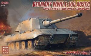 Germany WWII E-100 Heavy Tank Ausf.C with 128mm gun