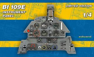 Bf 109E Instrument Panel Limited Edition