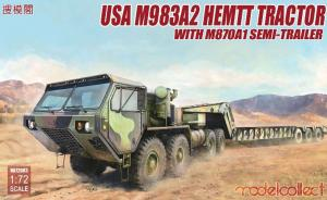 USA M983A2 HEMTT Tractor with M870A1 Semi-Trailer