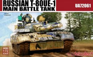 Russian T-80UE-1 Main Battle Tank