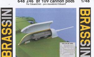 Bf 109 cannon pods