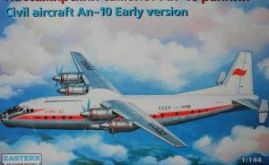 Civil aircraft An-10 Early version