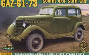 GAZ-61-73 Soviet 4x4 Staff Car