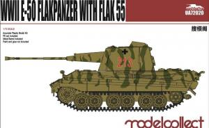 WWII E-50 Flakpanzer with Flak 55