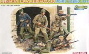 German Fallschirmjäger Monte Cassino 1944
