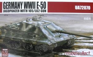 Germany WWII E-50 Jagdpanzer with 105/L62 Gun