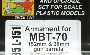Armament for MBT-70