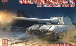 Germany WWII Jagdpanzer E 100 Tank Destroyer with 170mm Gun