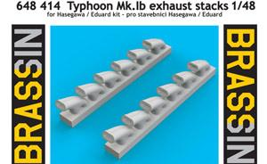 Typhoon Mk.Ib exhaust stacks