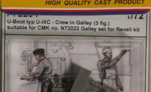 U-Boot typ U-IXC crew in Galley