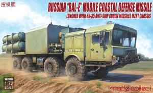 "Russian ""Bal-E"" Mobile Coastal Defense Missile"