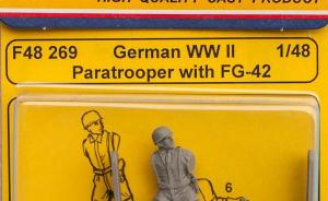 German WWII Paratrooper with FG-42