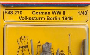 German WWII Volkssturm Berlin 1945