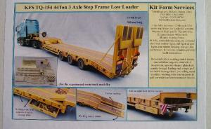 44 Ton 3 Axle Step Frame Low Loader