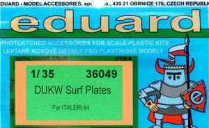 DUKW Surf Plates