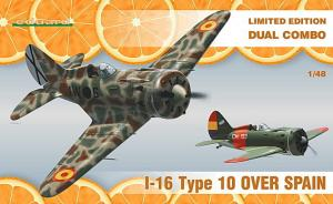 I-16 Type 10 over Spain Limited Edition Dual Combo