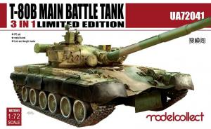 T-80B Main Battle Tank – 3 in 1 limited edition